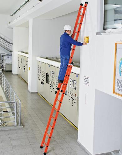 Escalera de fibra de vidrio zarges 41290