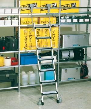 Z600 escalera de estanter as con ruedas - Estanteria con ruedas ...