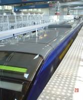 Grada mantenimiento auto ajustable tren