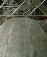 grada de mantenimiento auto ajustable tren